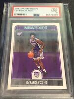 2017 Panini Hoops #255 De'Aaron Fox RC Rookie PSA 9 Mint Kings