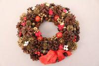 Weihnachtskranz Adventskranz Tischdeko Wanddeko Weihnachten Dekoration Kranz