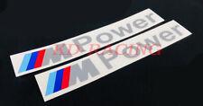 M Power Sticker Decals BMW Motorsports M2 M3 M4 M5 Z4 1M Free Shipping x 2