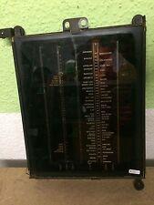 Blaupunkt 8 W 79 Röhrenradio Skalenscheibe  Glas Skala  sehr selten