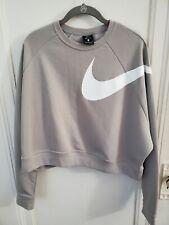 Nike Women's Dri Fit Cropped Sweatshirt