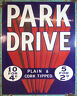 Park Drive Cigarettes - VINTAGE ADVERTISING ENAMEL METAL TIN SIGN WALL PLAQUE