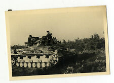 Org. Foto Panzer tank Kette Nahaufnahme Seitenansicht Besatzung