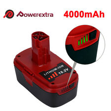 4000mAh 19.2V Lithium ion Compact Battery For Craftsman 11375 11374 C3 Drill New