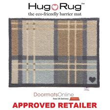 Hug Rug 85x65cm (KITCHEN 14)  Check Dirt Trapper Door Mat Machine Washable