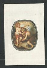Estampa de San Juan Bautista andachtsbild santino holy card santini