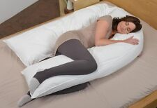 Oversized Total Body U Shaped Pillow Pregnancy Maternity Pillow Case Cover Zippe