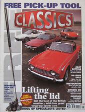 Classics 05/2000 featuring TVR Grantura, Fiat X1/9, Triumph, Porsche, Toyota MR2