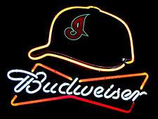 Budweiser Neon Print, Retro metal Aluminium Sign vintage / man cave / Bar/ Pub