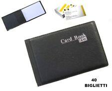 Porta biglietti Portabiglietti libro libro con capacit/à di 600/biglietti da visita