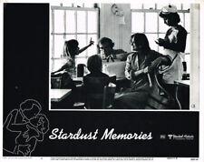 STARDUST MEMORIES WOODY ALLEN CHARLOTTE RAMPLING ORIGINAL LOBBY CARD