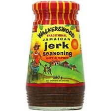 24 walkerswood traditional jamaican authentic jerk seasoning hot & spicy 10 oz
