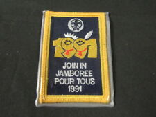 1991 World Jamboree Join In Jamboree Patch       c37
