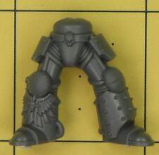 Warhammer 40K Space Marines Dark Angels Aile De Mort commandement Terminator Jambes (C)