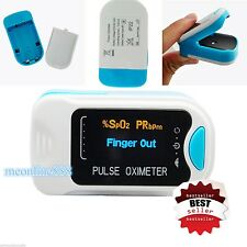 NEW OLED Finger Tip Pulse Oximeter Blood Oxygen Saturation SpO2 PR Monitor Meter