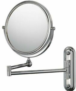 """Kimball & Young 20644 Bath / Vanity 4X Magnify 7"""" Wall Mounted Swing Arm Mirror"""