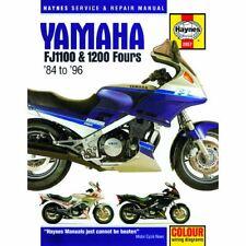 Haynes Manual for Yamaha Fj1100 & 1200 Fours