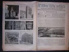 1899 MOLFETTA - ALTAMURA Cento Città Italia Gravina Gioia del Colle Alberobello