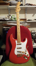 Fender Stratocaster Mexican in Red c/w Gold fittings