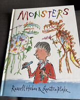 Monsters By Russell Hoban & Quentin Blake 1st Edition Walker Books