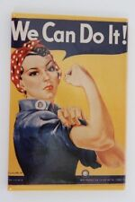 "Rosie The Riveter We Can Do It! Refrigerator Magnet World War Ii Poster 2"" x 3"""