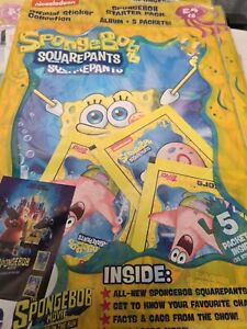 Topps Spongebob Squarepants Stickers Collection Starter Pack: Album + 5 Packets