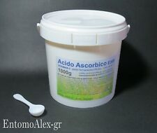 ACIDO ASCORBICO (VITAMINA C) 1 kg purissimo E300 Ph. Eur  polvere integratore
