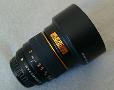 Samyang 85mm f1.4 for Pentax