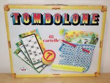 TOMBOLONE edizione marca stella 48 cartelle tombola bingo gioco vintage natale