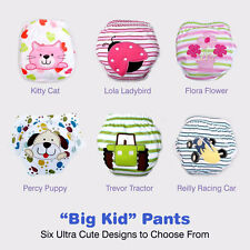 Big Kid Toilet Training Pants with Waterproof Layer