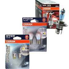 Osram Night Breaker Unlimited H4 110% Diadem Chrome PY21W WY5W Bulbs Lamp