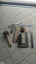 Lot of Stanley & Other Antique Woodworking Carpenter Tools LOOK