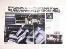 Nissan Skyline Original Advertisement removed from a magazine