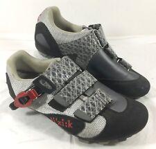 Women's GUC Fi'zi:k Itay Cycling Shoes Black Gray M5 Donna Sz 37.5 US 7 wms