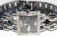 Blumarine Orologio Bracciale Donna in Acciaio Con Cristalli BM3080LS Lista 129€