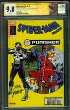 Amazing SPIDER MAN 129 CGC 2XSS 9.8 Stan Lee Romita French Reprint 1st Punisher