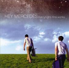 HEY MERCEDES - Everynight Fire Works (CD 2001) USA Import EXC Indie Emo-Rock