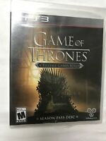 Game of Thrones: A Telltale Games Series (Sony PlayStation 3, 2015) Brand New
