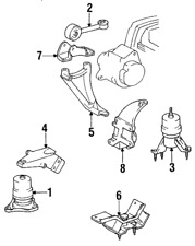 Genuine Toyota Front Mount 12361-74253