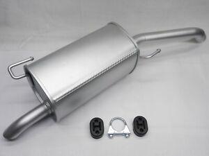 Auspuff Endschalldämpfer für Nissan Micra III K12 Note E11 1,2 1,3 1,4 2005-