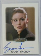 2017 Star Trek Women of Star Trek 50th Anniversary Autograph Saxon Trainor