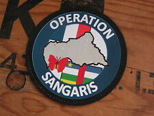 SNAKE PATCH PVC - OPERATION SANGARIS - mali OPEX Afrique félin DAGUET
