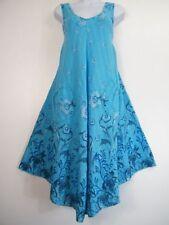 Damenkleider mit V-Ausschnitt aus Baumwolle für den Strand