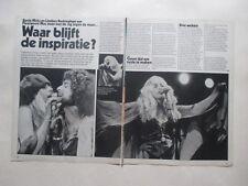 Fleetwood Mac Stevie Nicks Buckingham Wild Geese clippings Holland Dutch 1970s