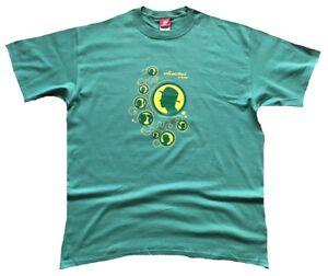 Zughafen Rare Selten Authentic CLUESO & BAND Gruenes T-Shirt g.XL