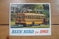 1965 Blue Bird School Bus Brochure