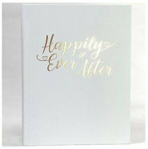 New! HAPPILY EVER AFTER Wedding Planner Organiser Folder Journal Diary Book Gift