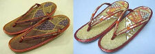 Vintage Japanese beaded zori sandals furisode tomesode cosplay