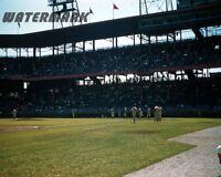 1956 Sportsman's Park / Busch Stadium St. Louis Cardinals Color 8 X 10 Photo Pic