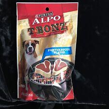 Purina Alpo T Bonz Porterhouse Dog Treats Made With Real Beef 4.5 oz Steak Shape
